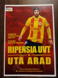 Programe meci Ripensia VS UTA Arad, Pandurii Tg Jiu, Chindia Targoviste