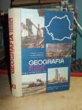 VICTOR TUFESCU - GEOGRAFIA ROMANIEI * MANUAL PENTRU CLASA A XI-A , 1966