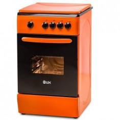 Aragaz LDK 4 arzatoare Capac de sticla Gaz Aprindere electrica Grill Rotisor Iluminare