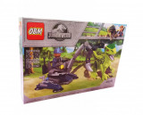 Cumpara ieftin Set de constructii cuburi, Velociraptor, 89 piese, 99522-4