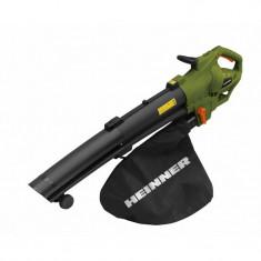 Psuflanta/aspirator frunze/p pputere: 3000w/p pturație &icircn gol: 8000-15000rpm/p praport de maruntire: 10:1/p pcapacitate sa, Heinner