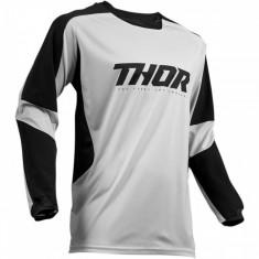 Tricou motocross Thor Terrain Gear gri/negru marime 2XL Cod Produs: MX_NEW 29104944PE