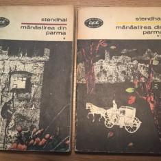 Stendhal - Manastirea din Parma (2 volume), (Editura Minerva, 1970; BPT)