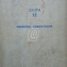 Industria confectiilor. Grupa 12