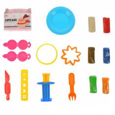 Plastilina cu forme de prajituri, jucarie creativa pentru copii, Color Glay - 728B3