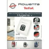 Cumpara ieftin Set de 4 bucati saci Rowenta hygiene pentru aspirator Rowenta Silence Force, X-trem power ZR200540