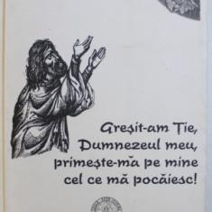 GRESIT - AM TIE , DUMNEZEUL MEU , PRIMESTE-MA PE MINE CEL CE MA POCAIESC ! de IEROMONAHUL COSMA , 2007