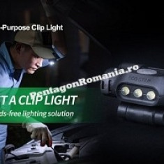 Lanterna frontala de cap tip UL10 - 65 lumeni