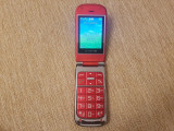 Cumpara ieftin Telefon Dame Clapeta Varstnici Olympia Becoo Plus Rosu Livrare gratuita!, <1GB, Neblocat