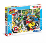 Cumpara ieftin Puzzle Mickey Roadster Racers, 60 piese, Clementoni