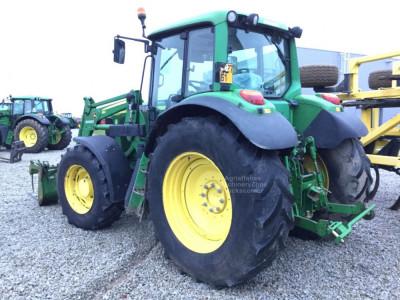Tractor John Deere 6620 Premium, an  2007, AC, 135 CP, 4x4 + incarcator JD 663 foto