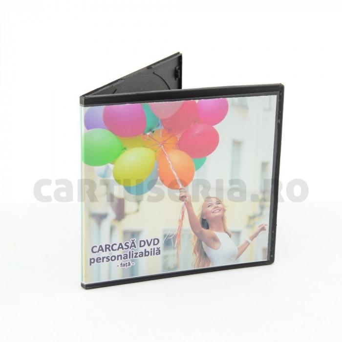Carcase duble personalizabile PP DVD 5 mm