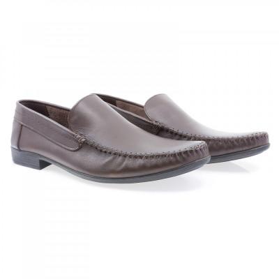 Pantofi barbati Caspian din piele naturala Cas-660-KAH foto