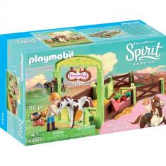 Playmobil Spirit - Spatiu ingrijire cai - Abigail & Boomerang