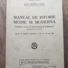 MANUAL DE ISTORIE MEDIE SI MODERNA, CLASA II-A, 1936
