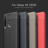 Husa / Bumper Antisoc model PIELE pentru Samsung Galaxy A9 2018, Alt model telefon Samsung, Albastru, Gri, Negru, Rosu, Gel TPU