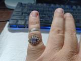 Lot 31 de 2 inele argint, Inel servetele