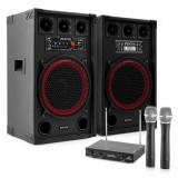 "Electronic-Star Sistem de karaoke""STAR-Kreuzberg"" PAset de boxe ,microfon de mână, 800W"