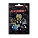Set 5 pene pentru chitara - Iron Maiden - Faces of Eddie | Rock Off