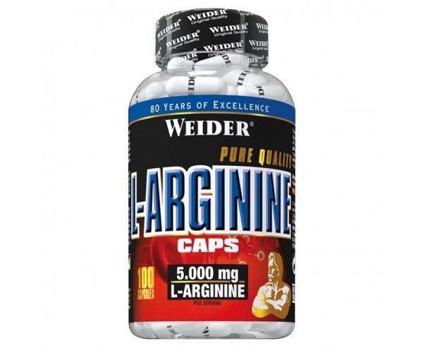 WEIDER L-Arginina 5000 MG, 100 capsule