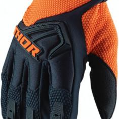 Manusi motocross Thor Spectrum gri/portocaliu, L Cod Produs: MX_NEW 33305808PE