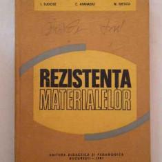 Rezistenta Materialelor - I. Tudose C. Atana N. Iliescu ,269776