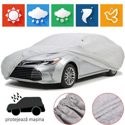 Husa Prelata Auto Ford Escort Break Impermeabila, Anti-Umezeala, Anti-Zgariere si cu Aerisire, Material Premium foto