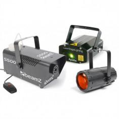 Cumpara ieftin Beamz Light3 Disco efecte masina de fum si laser