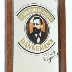 Reclama Bar vintage pe oglinda  Trabucuri Tigari de Foi Dannemann