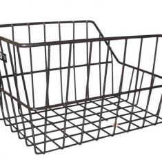 Cos spate cu grilaj metalic decupat pentru bicicleta 28x39x22 cm