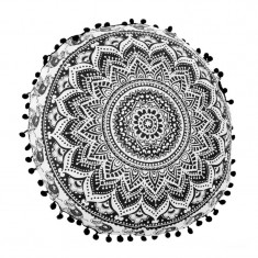 Perna decorativa Boho, 60 x 13 cm, model mandala