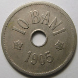 Romania,  10 bani 1905 * cod 145