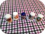 Degetar de portelan_set de 5 bucăți_de colecție