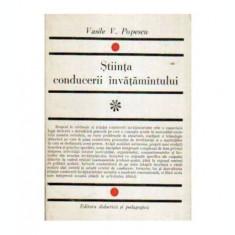 Știinta conducerii invatamantului (Convorbiri si carti postale)