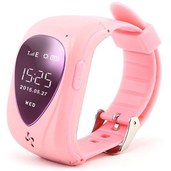 Resigilat! Ceas GPS Copii iUni U11,Telefon incoporat, Alarma SOS, Pink
