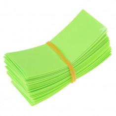 50 Bucăți 72/30mm tuburi PVC termocontractabile pe Culoare Măr verde