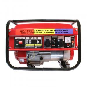 Generator pe benzina Micul Fermier, 2800 W, 163 CC, 4 CP, autonomie 6 ore, tehnologie AVR