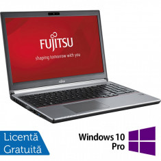 Laptop FUJITSU SIEMENS Lifebook E753, Intel Core i5-3330M 2.60GHz, 8GB DDR3, 120GB SSD, 15.6 Inch, Tastatura Numerica + Windows 10 Pro