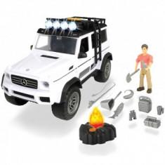 Masina Dickie Toys Fun Adventure Set cu figurina si accesorii