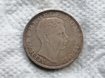 Romania 200 lei 1942 argint xf. 5 foto