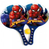 Set palete tenis de masa Spiderman America Seven, minge inclusa