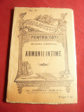 Al.Z.Sihleanu - Armonii intime -BPT nr.75 ,interbelica , 96 pag
