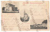 3810 - TARGU-MURES, Litho, Romania - old postcard - used - 1899