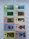 = LOT 457 - TAIWAN - 10 CARTELE TELEFONICE DIFERITE =