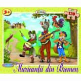 Puzzle - Muzicantii din Bremen (120 piese)/***