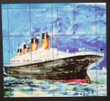Abhazia- Dezastrul Titanic,1 M/Sh.Neobliterat--T 38