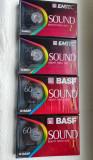 BASF casete audio noi sigilate de 60 si 90 de minute.