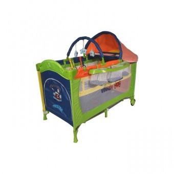 Patut pliabil Pentru Copii DeLuxe Plus-Go Rainbow Car foto