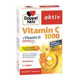Vitamina C 1000 + Vitamina D Depot, 30 comprimate, Doppelherz