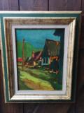 Tablou autentic Eugen Pascu, Peisaje, Ulei, Impresionism